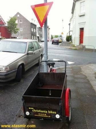 X-iania bikes, Кристиания, велики, Рейкьявик, Исландия, датские велосипеды в Исландии, photo Stasmir, Фото Стасмир