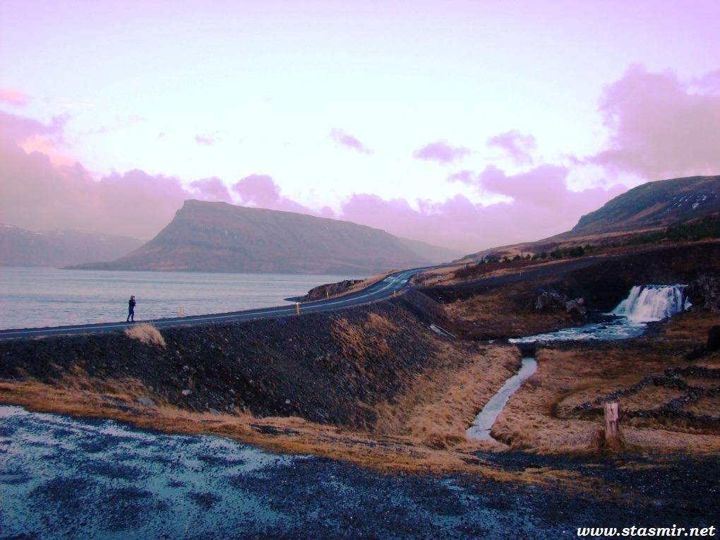 circling the fjord