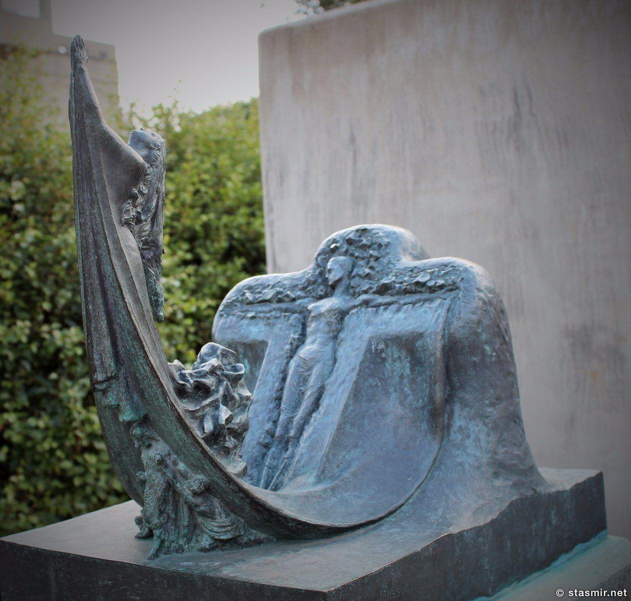 скульптор Einar Jónsson, Распятие - скульптура Эйнара Йоунссона, парк скульптуры в Рейкьявике в районе 101 Рейкьявик, фото Стасмир, Photo Stasmir