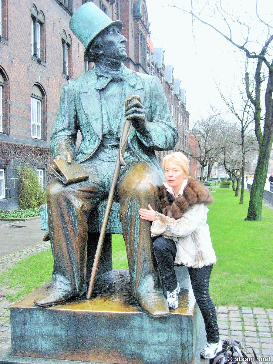 Ганс Христиан Андерсен, Копенгаген, фото Стасмир, Photo Stasmir