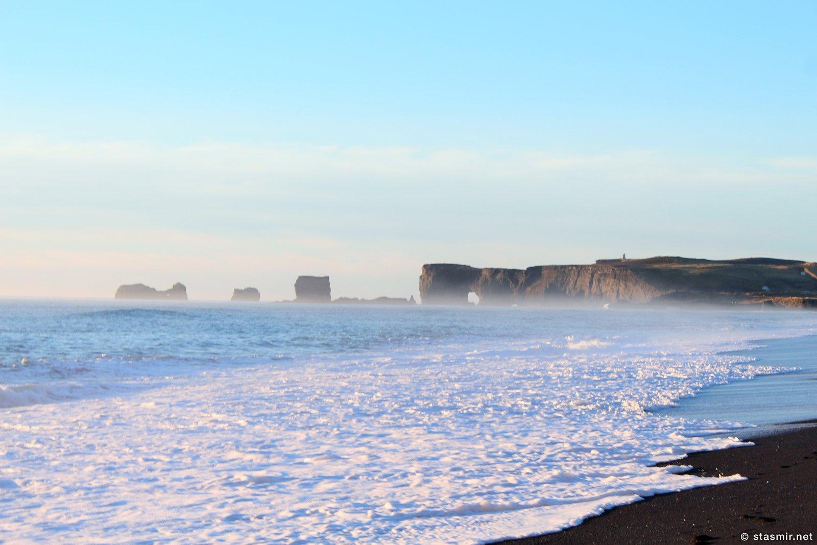 Пляж Рейнисфьяра и Дирхоулаэй в Южной Исландии, фото Стасмир, Photo Stasmir