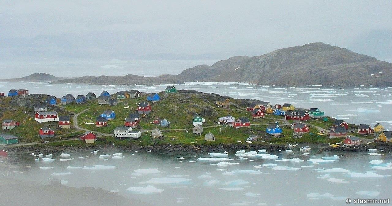 Гренландия - Кулусук - лет 25 назад, фото Стасмир, photo Stasmir