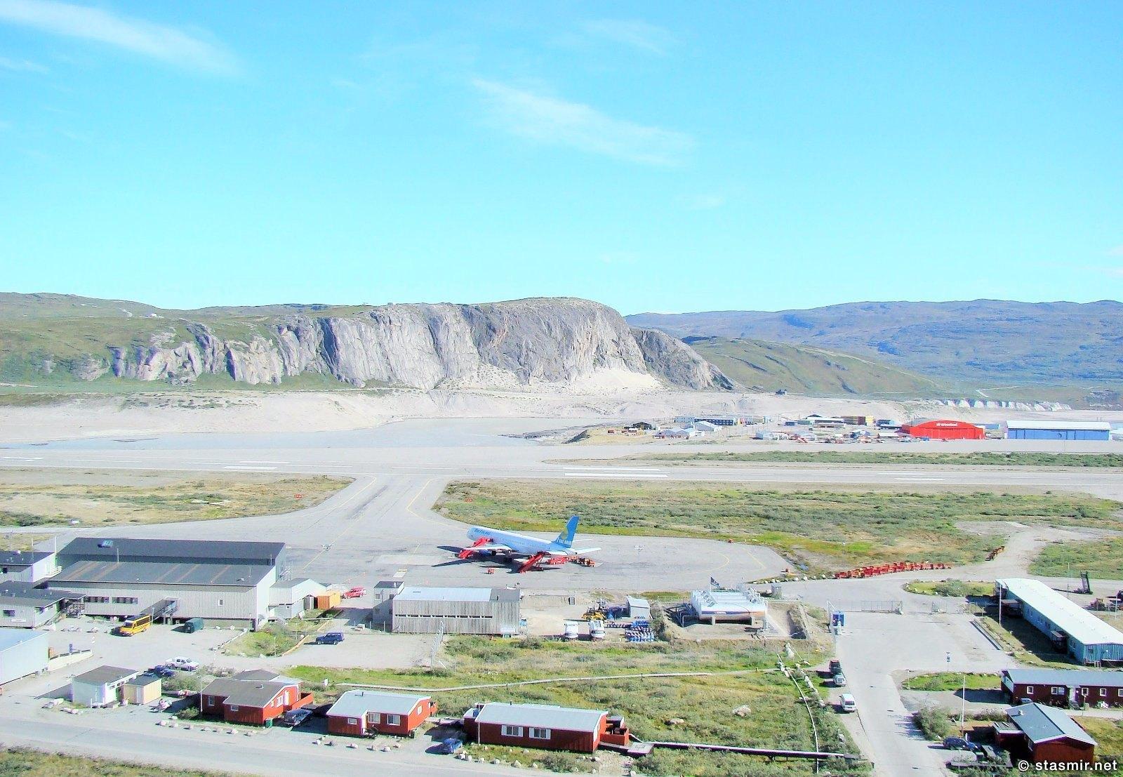 Кангерлуссуак, пересадочный аэродром в Гренландии, фото Стасмир, photo Stasmir