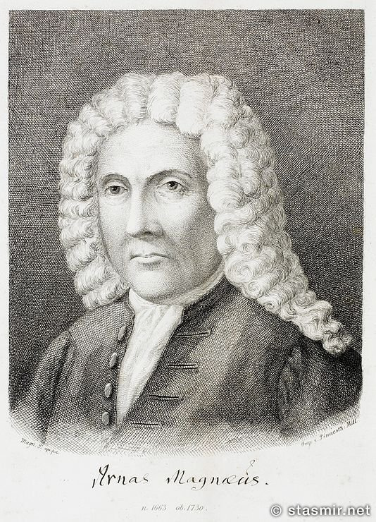 Arni Magnusson: Арни Магнуссон - портрет из Википедии