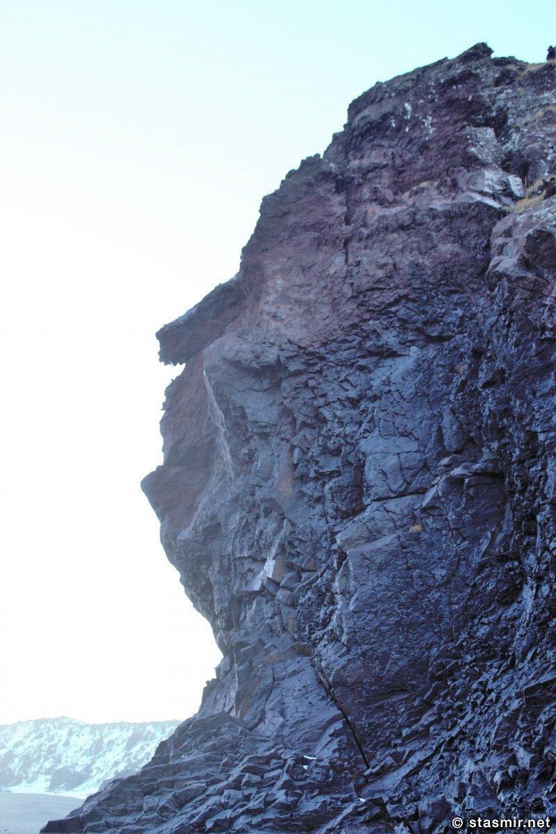 Екатерина Великая в профиль? Западная Исландия, фото Стасмир, Phtoto Stasmir