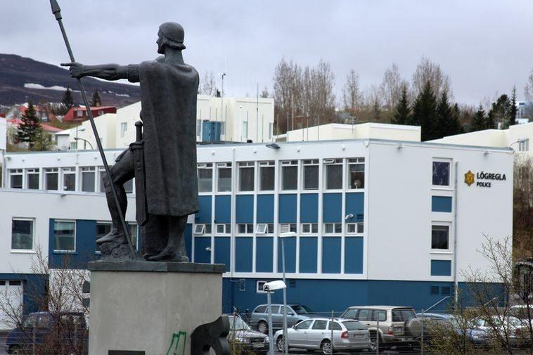 Akureyri Police Station. Photo by mbl.is/Sigurður Bogi Sævarsson