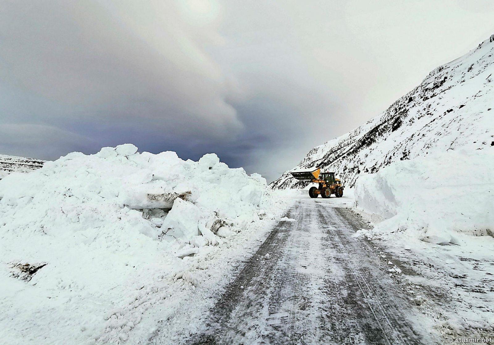 Очиска дороги  61. Фото mbl.is-Ragnar-Axelsson