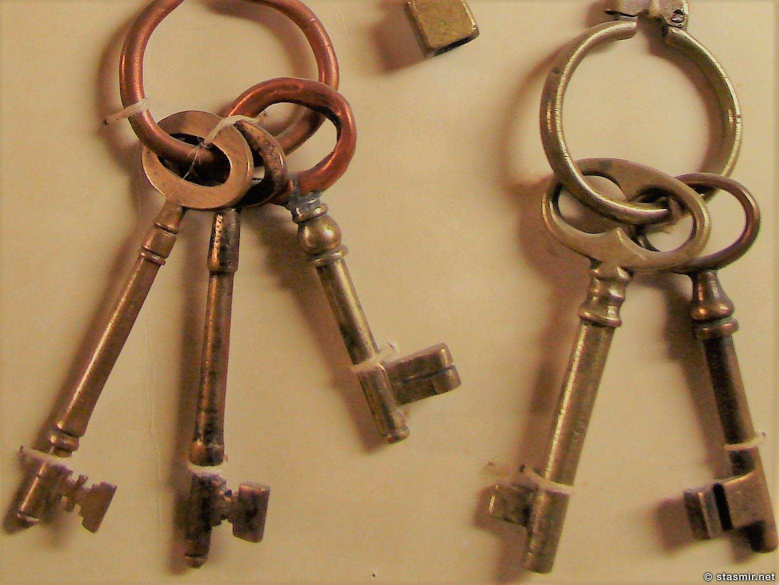 """Она сказала """"Возьми с собой ключи от моих дверей"""" - коллекция старых ключей в музее Скоугар, фото Стасмир, photo Stasmir"""