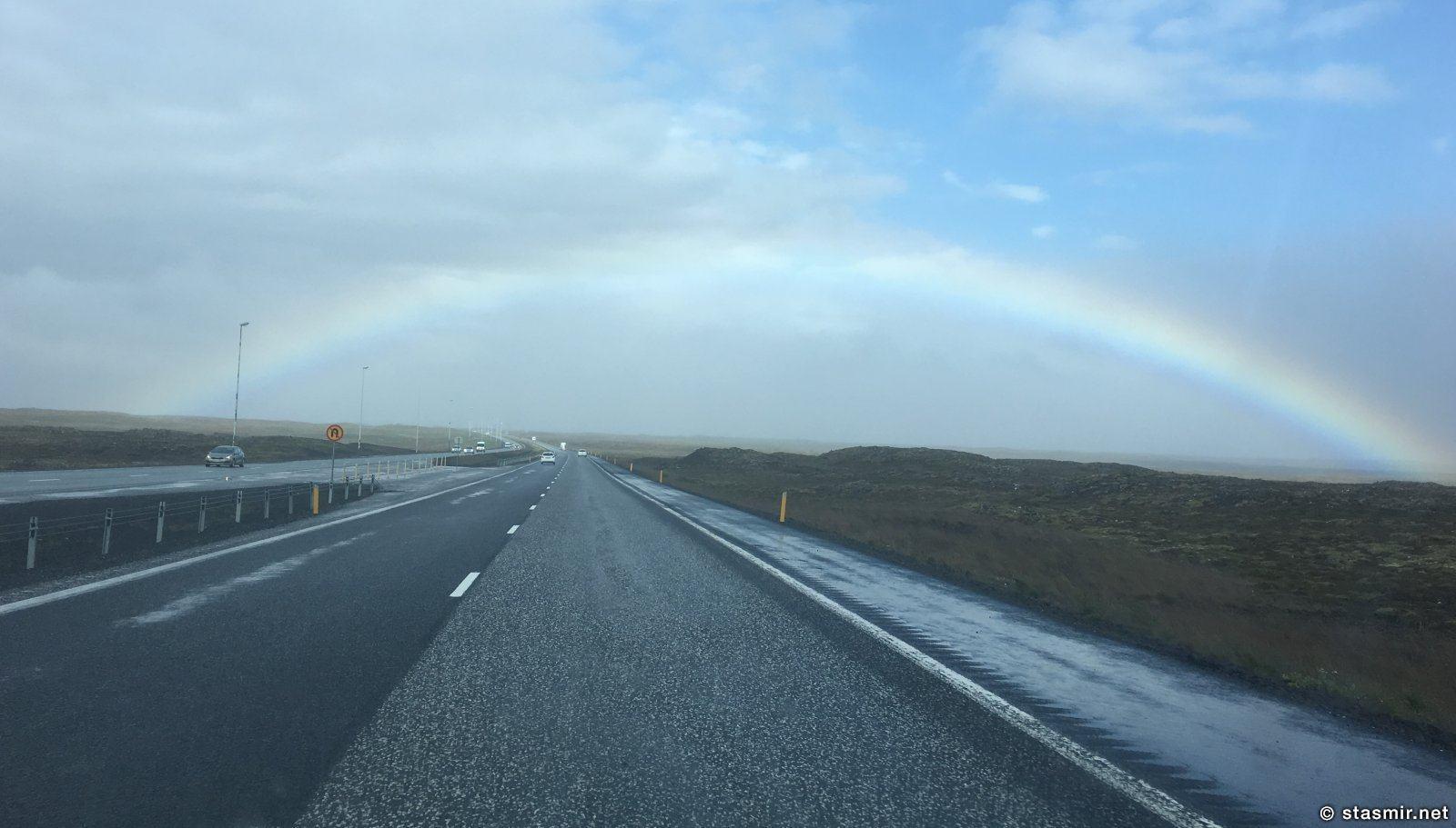 reykjanesbraut - дорого номер 41, на которой зарегистрировано большинство нарушений скорости, Фото Стасмир, photo Stasmir