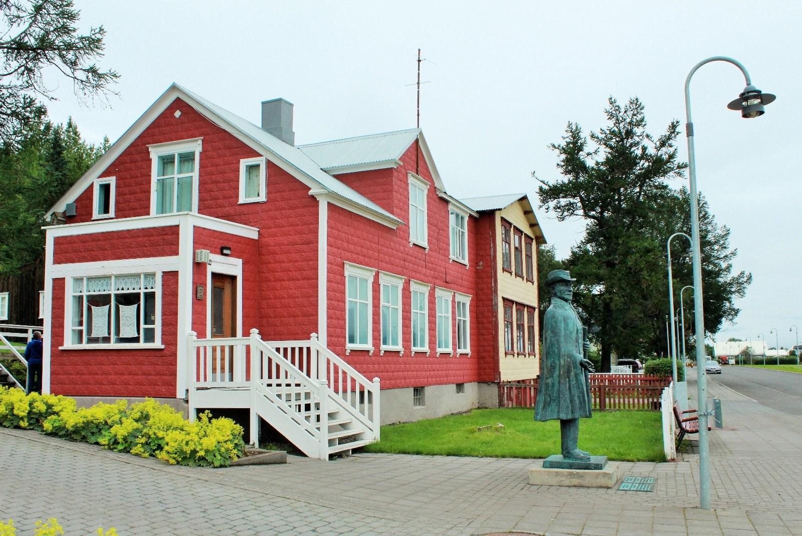 Aðalstræti, музеи Акюрейри, Nonnahús, Jón Sveinsson, исландский писатель, детская литература в Исландии, Йоун Свейнссон, исландский иезуит, Photo Stasmir