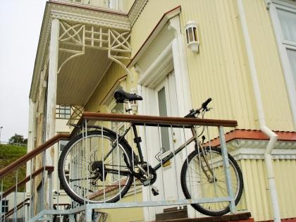 Акюрейри, центр Акюрейри, велосипед в Акюрейри, северная столица Исландии, Photo Stasmir