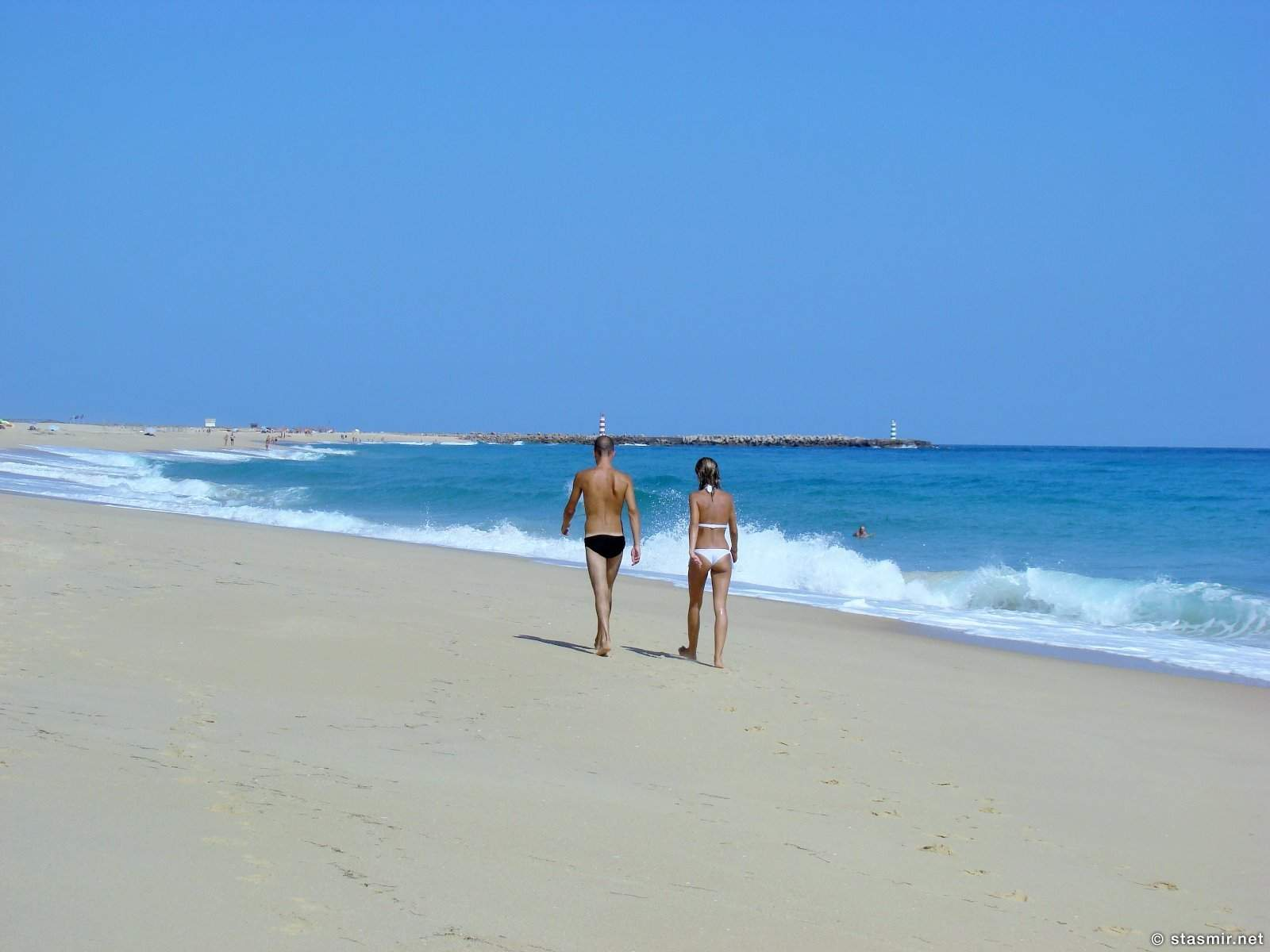 пляжи Ria Formosa или Риа-Формоза, Ilha Deserta, Algarve, пляж в Алгарве, фото Стасмир, Photo Stasmir