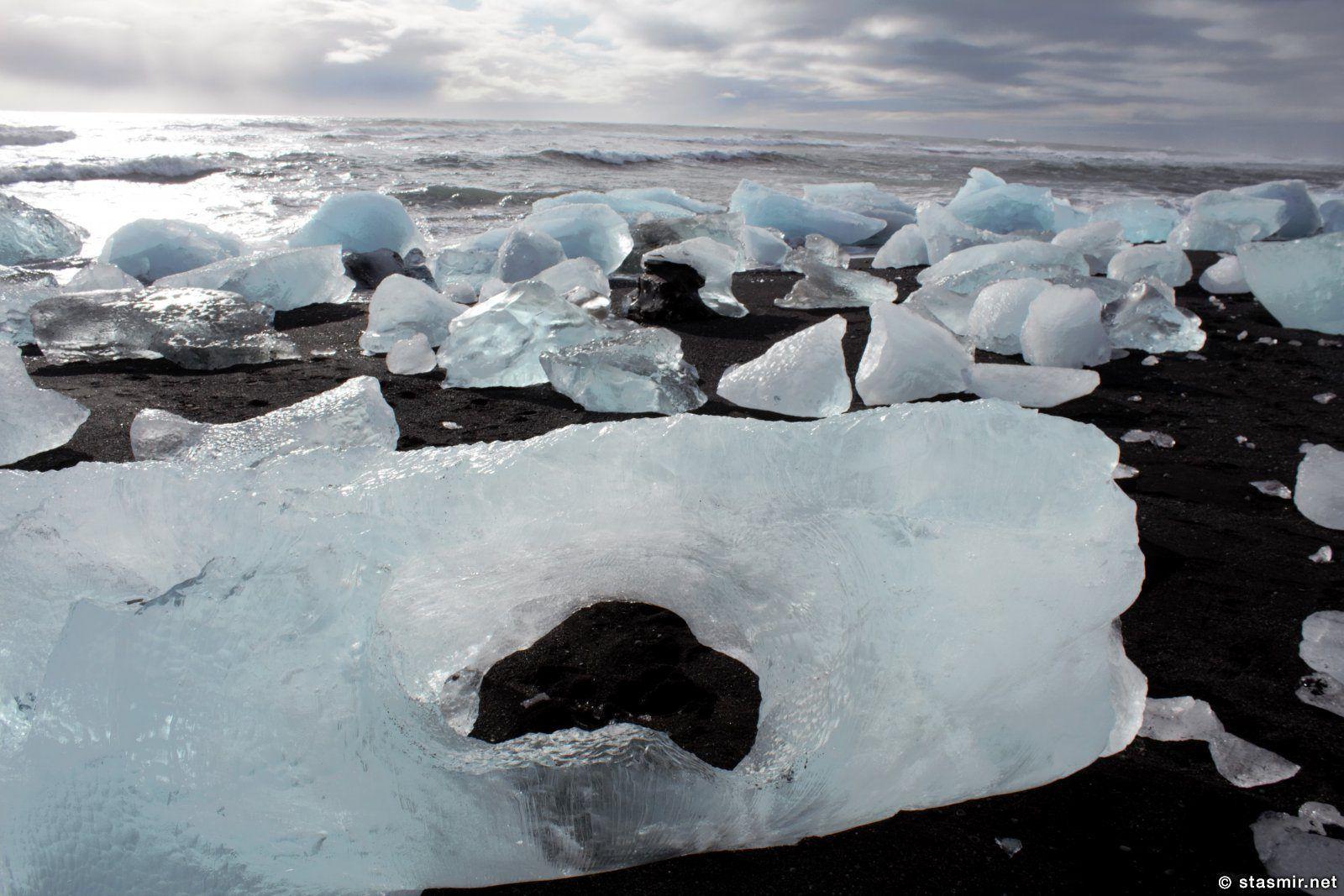 Ледяная лагуна в Исландии весной, фото Стасмир, photo Stasmir