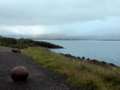 мины второй мировой на берегу в Bakkagerði, Borgarfjörður Eystri, Photo Stasmir, фото Стасмир