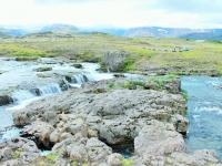 реки Исландии, Исландия летом, камни в холодной воде, Photo Stasmir