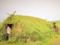 исландская землянка, традиционное жилье в Исландии, исландские землянки, photo Stasmir