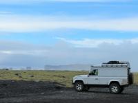 виды Исландии, Лэндровер Дифендер, Исландия, красота Исландии, photo Stasmir