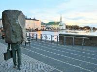 Памятник неизвестному бюрократу, Рейкьявик, Исландия, Photo Stasmir