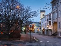 Пересечение улиц Vonarstræti и Templarsund