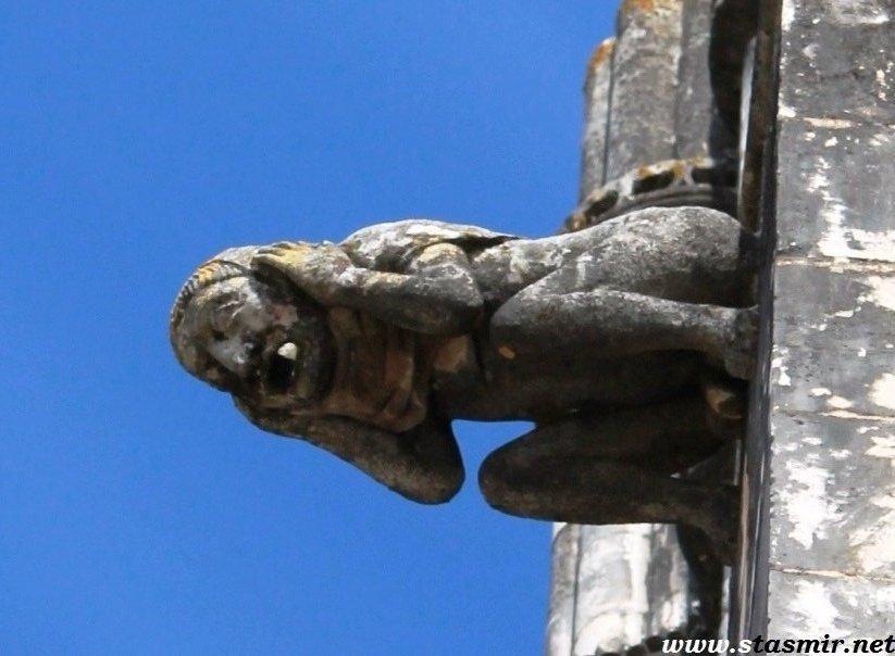 гаргулья, Португалия, adjective, мыслю - значит существую, Passive voice in dejected mood, страдательный у меня сегодня залог