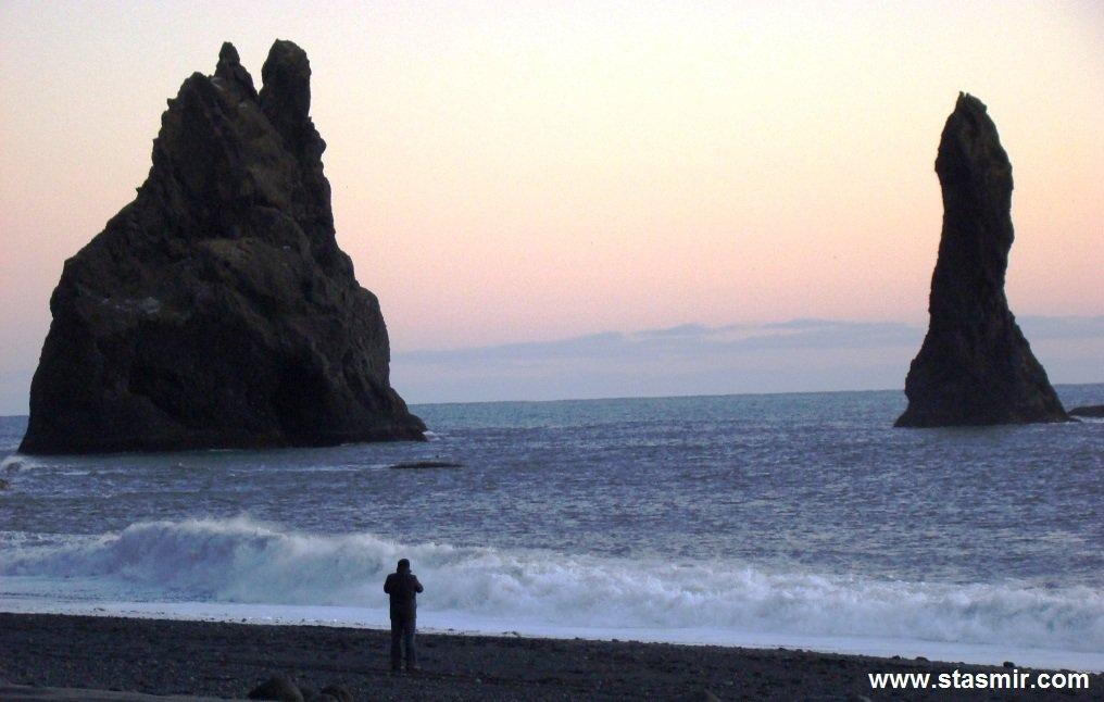 Reynisdrangar, Южный берег Исландии, фото Стасмир, photo Stasmir