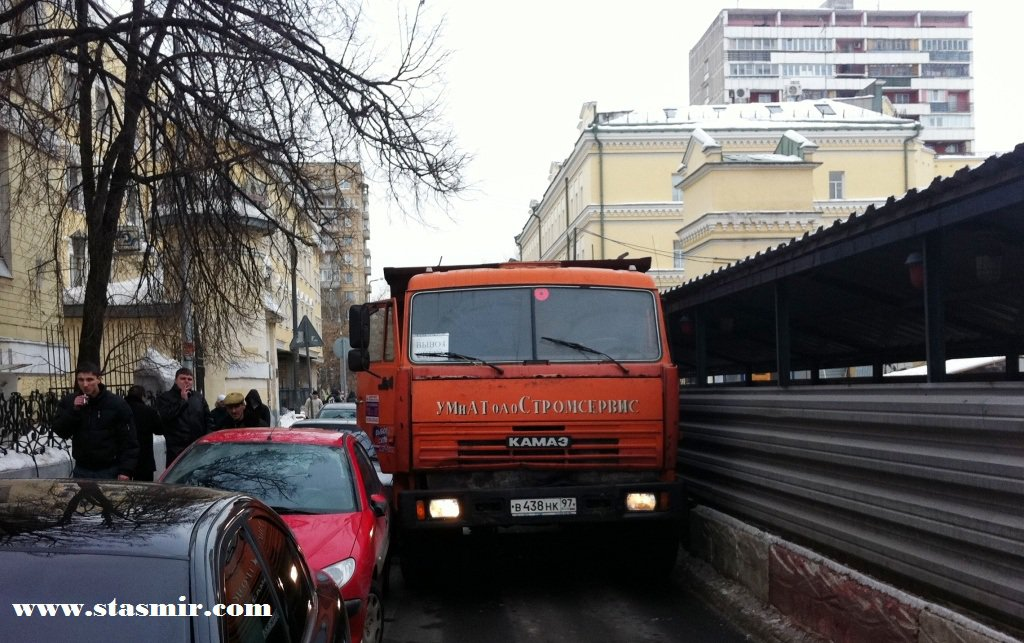 Камаз - орудие пролетариата, Щиипок, Замоскворечье, Photo Stasmir, Stanislav Smirnov