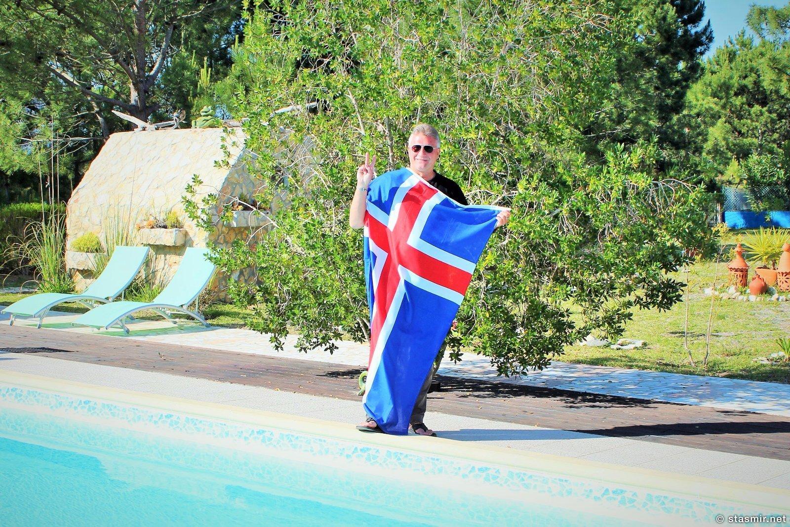 Bandeira da Islândia, исландский флаг в Португалии, флаг Исландии, Стасмир, Стасмир Трэвэл, Станислав Смирнов, Stasmir, Stanislav Smirnov