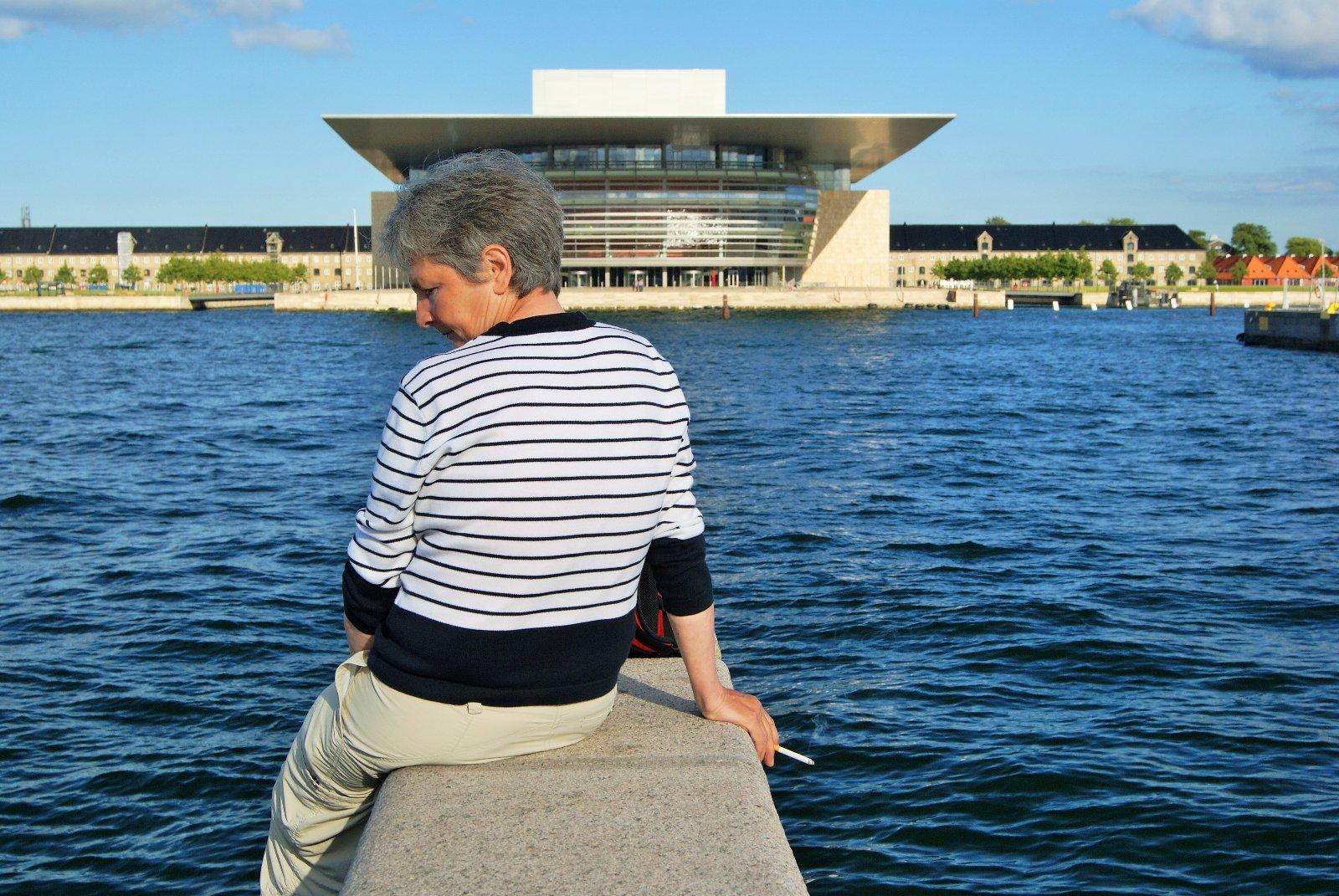 Dannebrog1, Эресуннский пролив, Копенгаген, Оперный театр Копенгагена, национальный оперный театр Дании