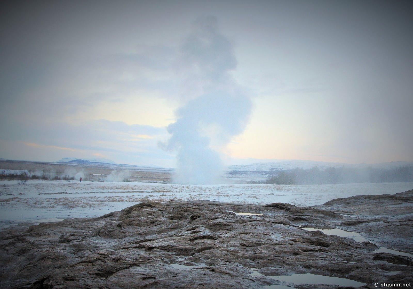 geysir, гейзер Строккюр, Строккур, долина гейзеров, золотое кольцо Исландии