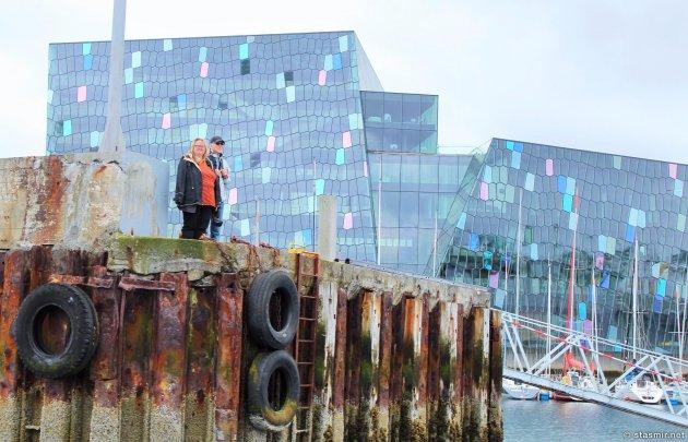 Олафур Элиассон, Концертный зал Харпа, Старая гавань Исландии, яхты, Залив Факсафлоу, концертный зал Харпа, Рейкьявик, harpa, Photo Stasmir