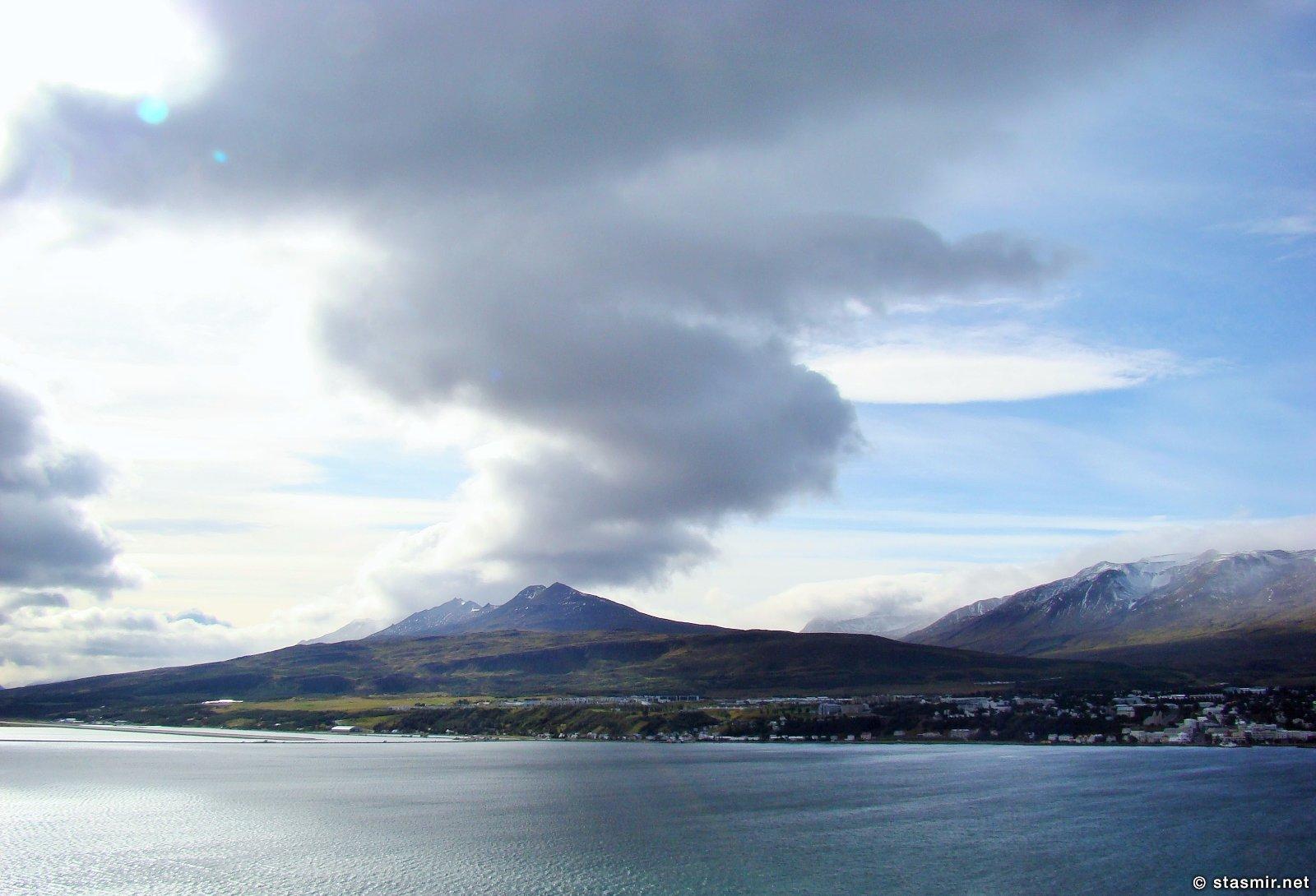 Брильянтовое кольцо Исландии, Акюрейри, Eyjafjörður, Эйя-фьорд, Северная Исландия, Акюрейри, Photo Stasmir