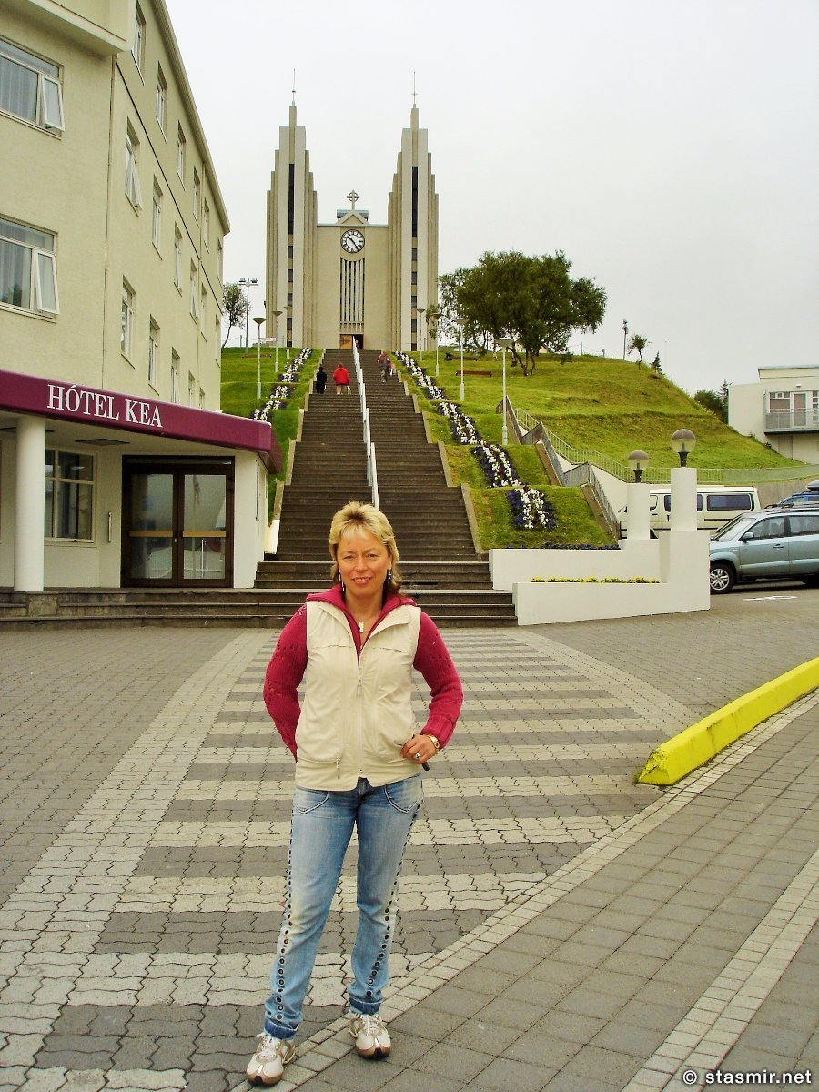 Лютеранская церковь в Акюрейри,  Akureyrarkirkja, Coventry cathedral, Гудйоун Самуэльссон, Guðjón Samúelsson, Photo Stasmir