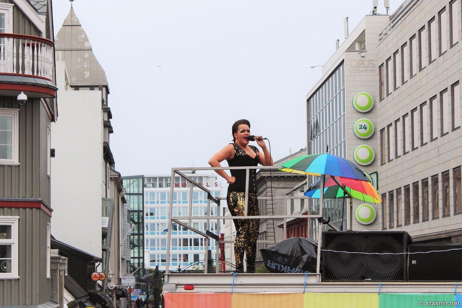 Гей-прайд 2015, Рейкьявик, селебрити в Исландии, главная улица Рейкьявика, праздники в Исландии, гей-прайд в Исландии, gay pride 2015, Reykjavik, равноправие полов, туры в Исландию, портрет исландца, Photo Stasmir