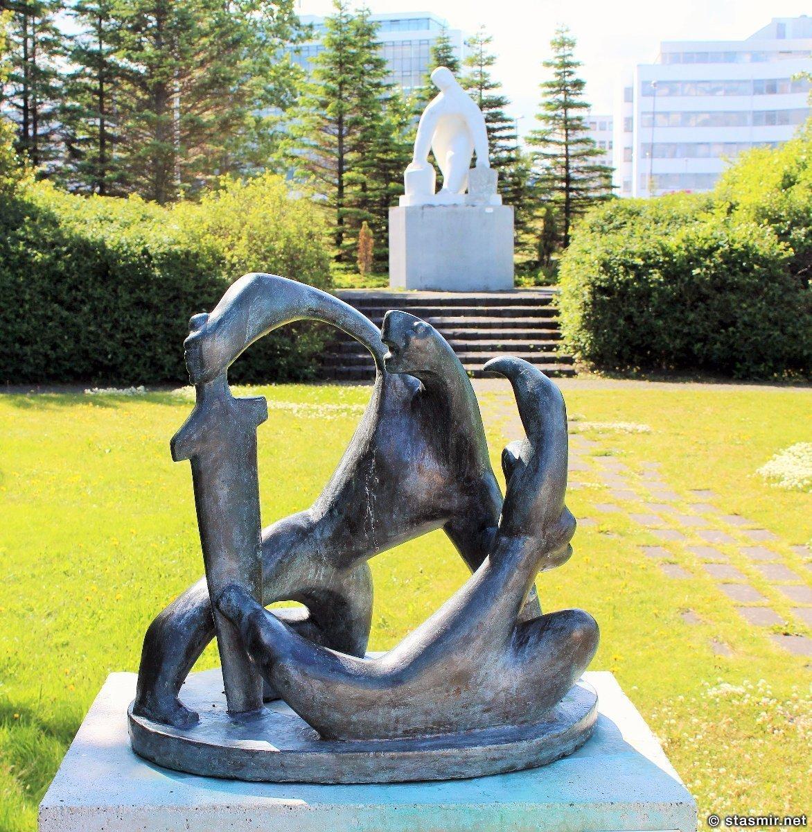 Ásmundur Sveinsson, Аусмундур Свейнссон, Сад скульптур, Рейкьявик, Исландия, photo Stasmir
