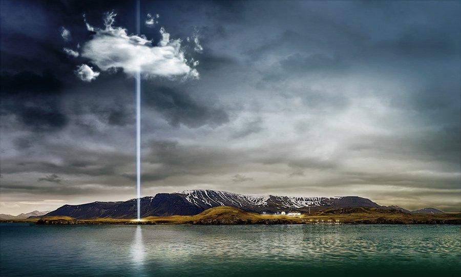 Imagine Peace Tower crop