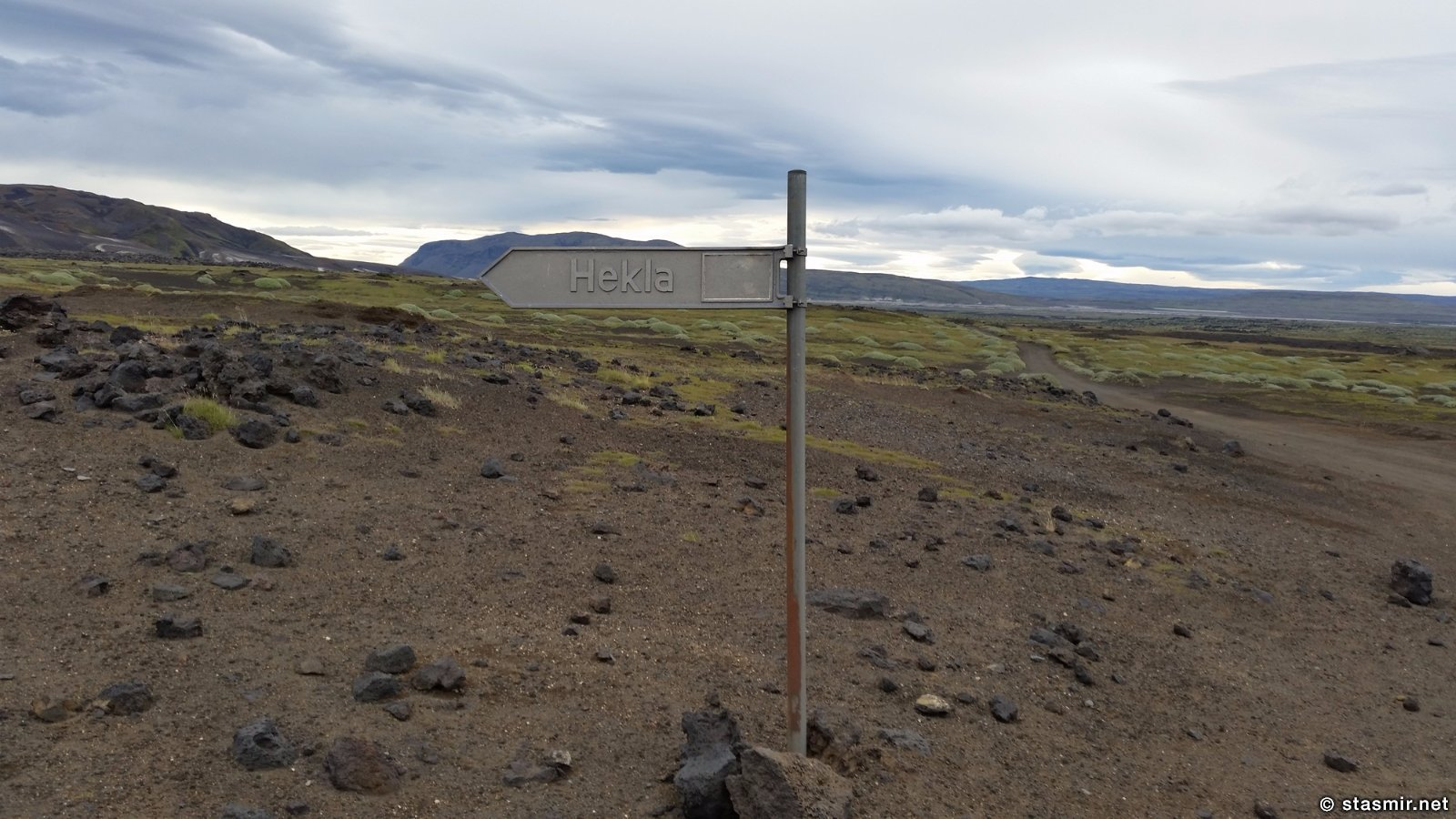 Вулкан Гегла, исландские дорожные знаки, указатели в Исландии, Ландманналёйгар, Ландманналаугар, Landmannalaugar, Icelandic road signs, Photo Stasmir, фото Стасмир