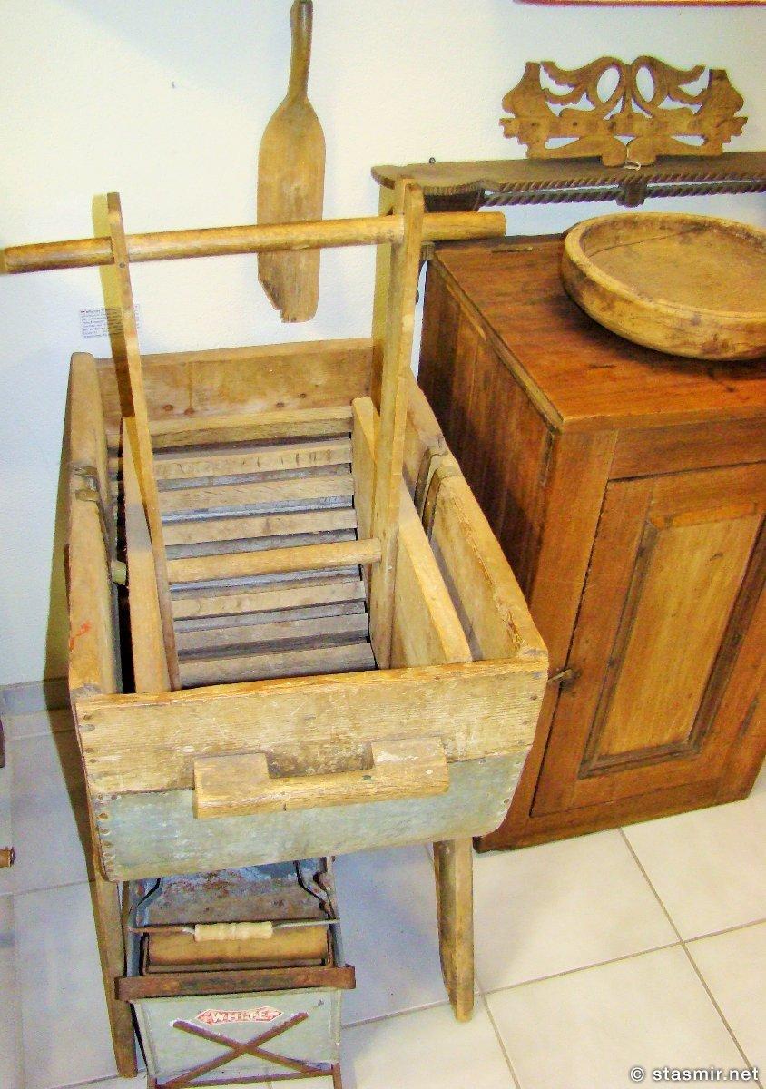 исландская стиральная машина в краеведческом музее Скоугар, Южный Берег, Исландия, фото Стасмир, photo Stasmir, skogasafn
