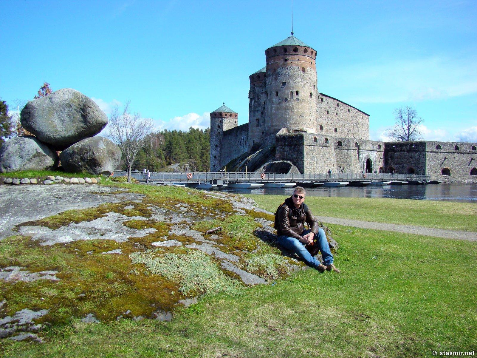Крепость Савонлинна, Крепость Олавинлинна, Олафсборг и еще много как, фото Стасмир, Photo Stasmir