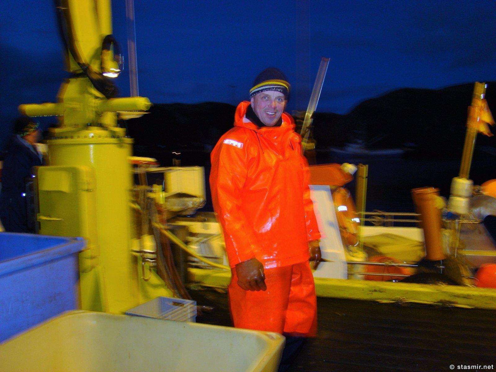 Неизвестный веселый рыбак в Западной Исландии, фото Стасмир, Photo Stasmir