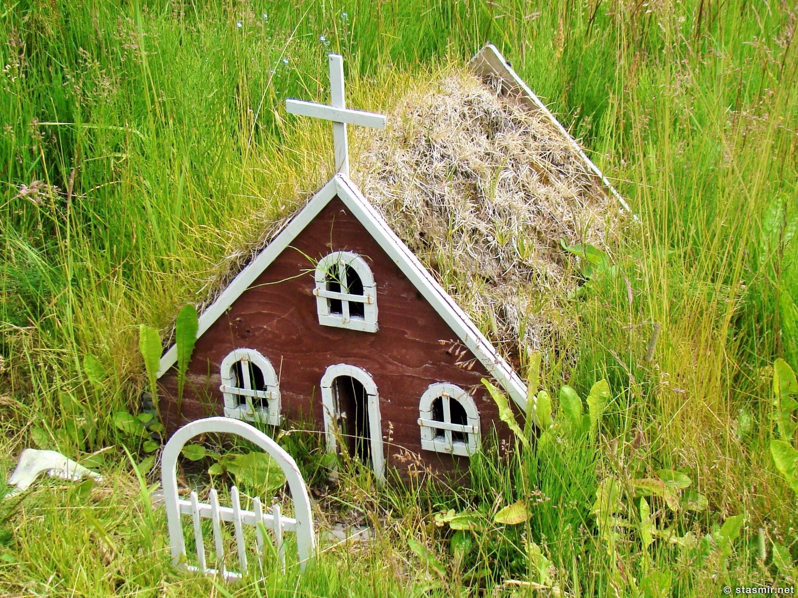 домик для эльфов в краеведческом музее Скоугар, фото Стасмир, Photo Stasmir