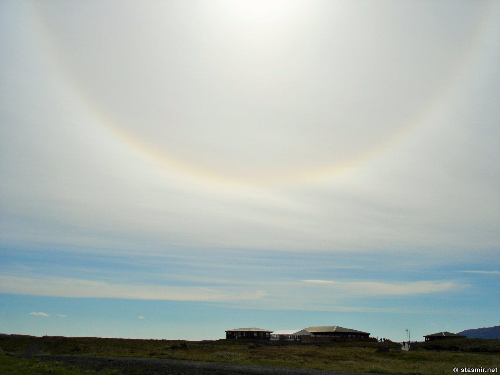 Солнце в Соколиной Долине, Золотой Водопад, Гейзир, Исландия, Фото Стасмир, Photo Stasmir