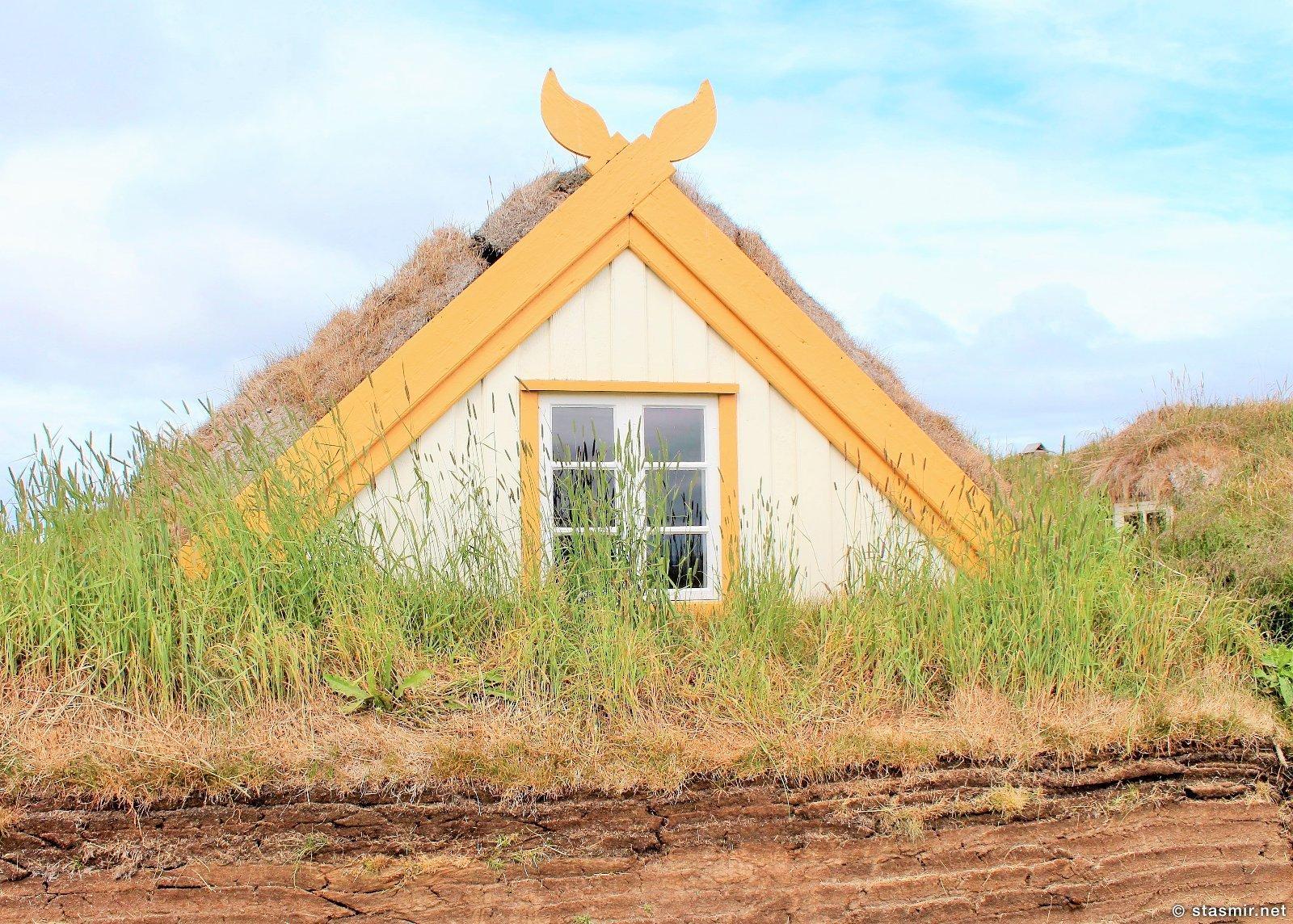 Glaumbær или Глёймбаер - музей землянок на Севере Исландии, фото Стасмир, Photo Stasmir
