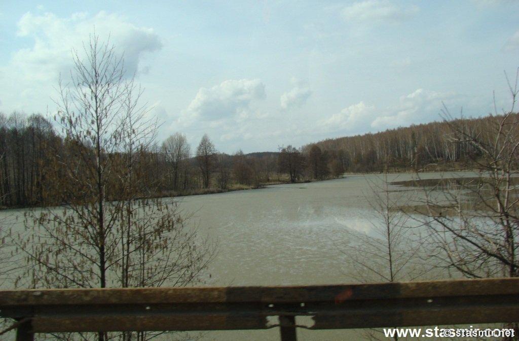 Паводок, Половодье, Река Ока, Калужские края, разлив реки, Фото Стасмир, Photo Stasmir