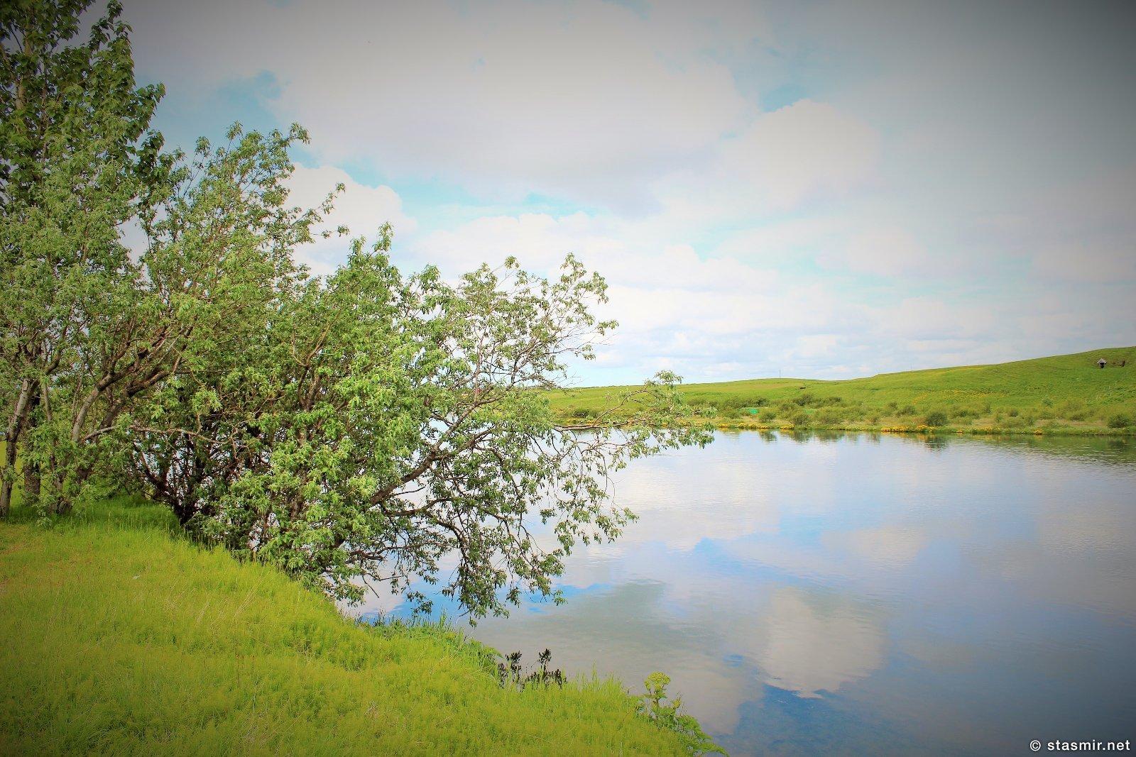 Рангау - рыбная река Исландии, Южный Берег, Стасмир