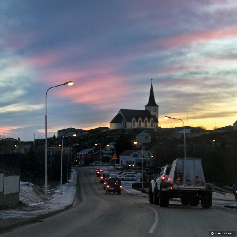 Боргарнес (Borgarnes) — город в шестидесяти километрах на северо-запад от Рейкьявика