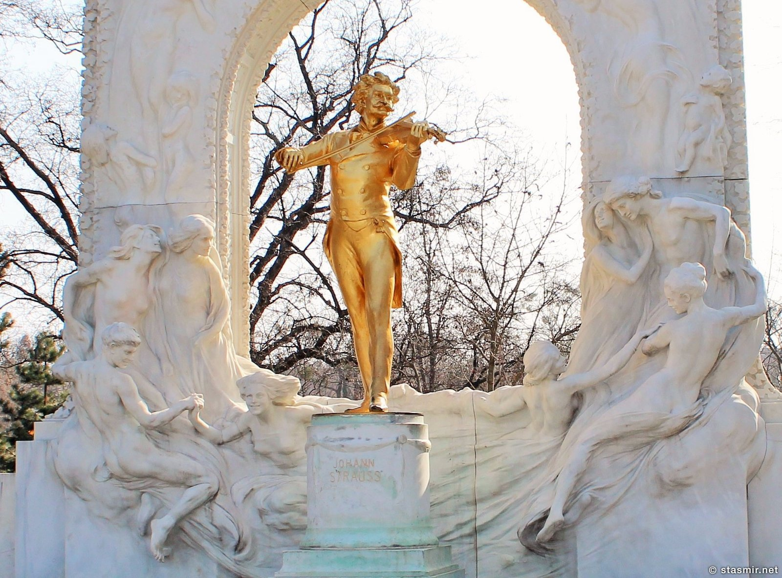 Венна, памятник Моцарту, Австрия, фото Стасмир, Photo Stasmir