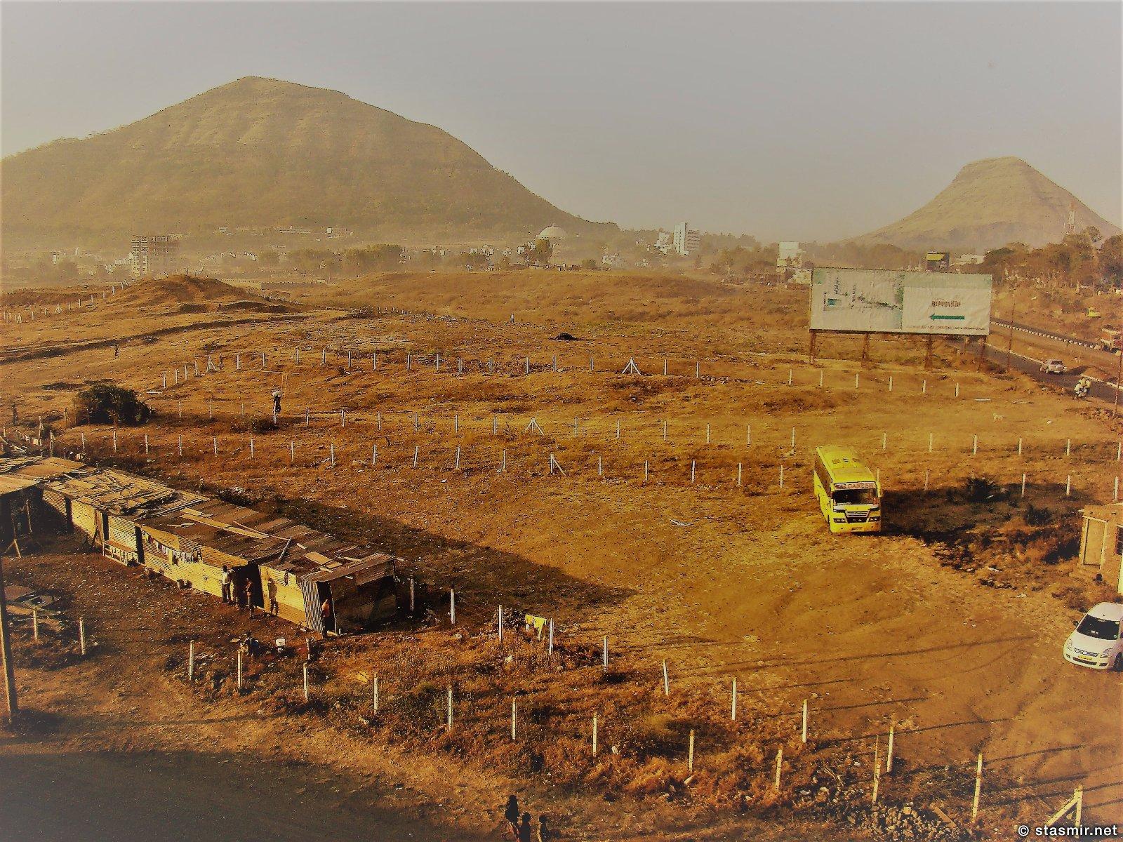 дороги штата Махараштра, Индия, Фото Стасмир, photo Stasmir, декансукое плато в Индии