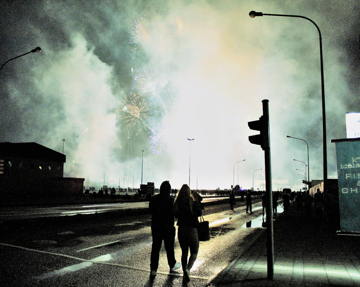 праздник ночь кульутры в Рейкьявике, фото Стасмир, photo Stasmir