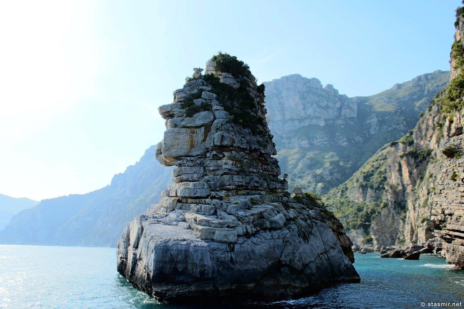 прибрежные образования в заливе Салерно, фото Стасмир, photo Stasmir