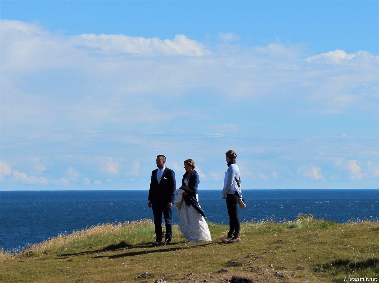 свадьба у океана на полуострове Снайфедльснес, фото Стасмир, photo Stasmir